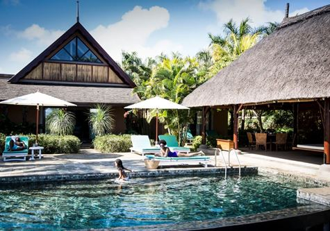 A pool at Club Med Albion Villas in Mauritius
