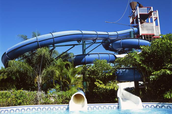 Beaches Negril Pirates Island Waterpark Slide