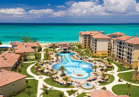 An aerial view of Beaches Turks & Caicos