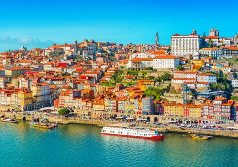 Cityscape of Porto - The Douro River Cruise