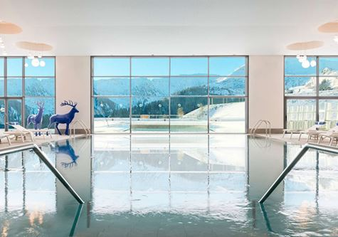 Indoor pool at Club Med Grand Massif