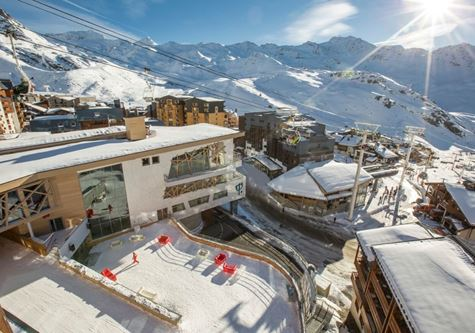 Club Med Val Thorens Sensations resort in France
