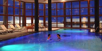 Swimming pool at Club Med Valmorel resort in France