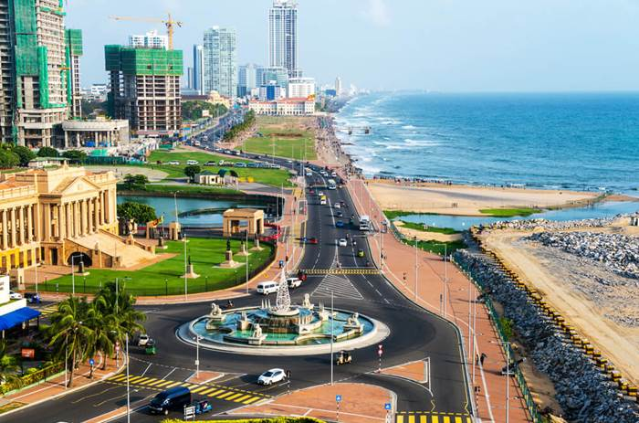The vibrant and bustling city of Colombo on Cox & Kings Splendours of Sri Lanka solo tour