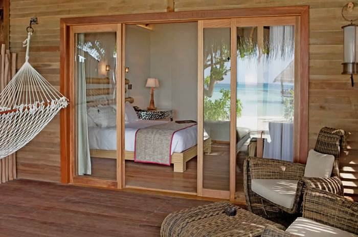 Accommodation at the constance moofushi maldives resort