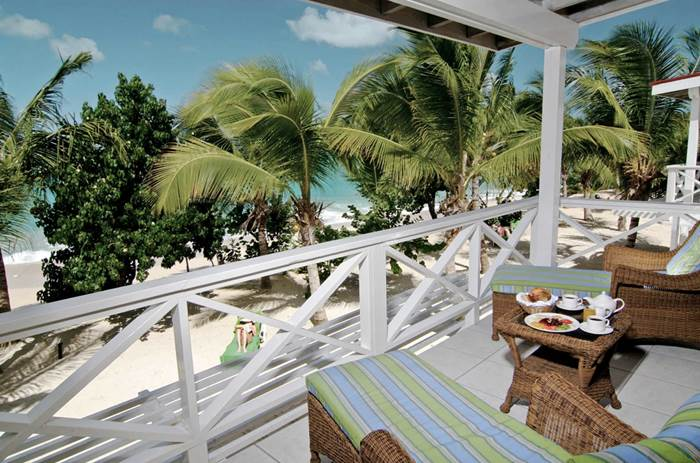 Balcony at Galley bay resort and spa Kuoni in Antigua