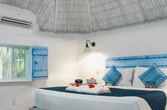 Inside the accommodation at Kuoni Galley bay resort and spa  in Antigua
