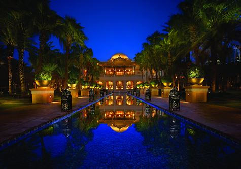The One & Only Royal Mirage Hotel At Night