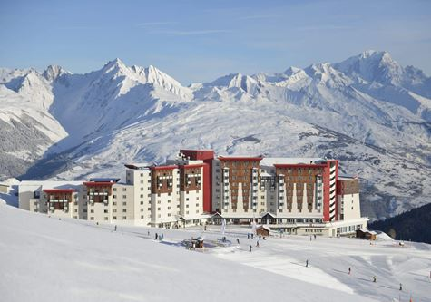 Club Med La Plagne Ski Resort in France