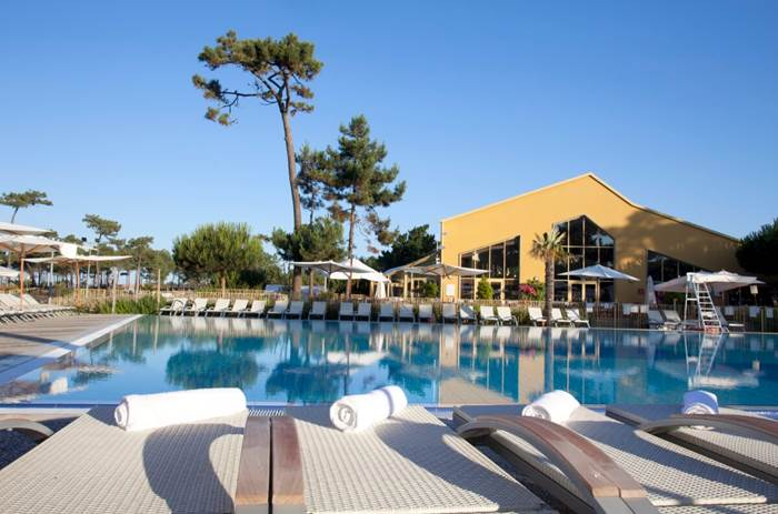 The pool at Club Med La Palmyre Atlantique in France
