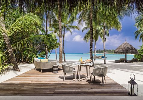 The One and Only Hotel Reethi Rah in the maldives