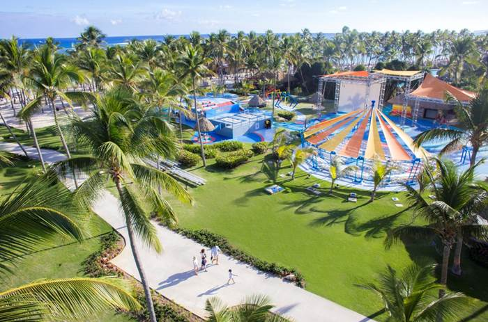 The resort at Club Med Punta Cana in the Dominican Republic