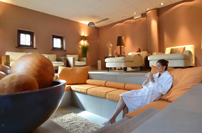 The spa at Club Med Pragelato Vialattea Summer