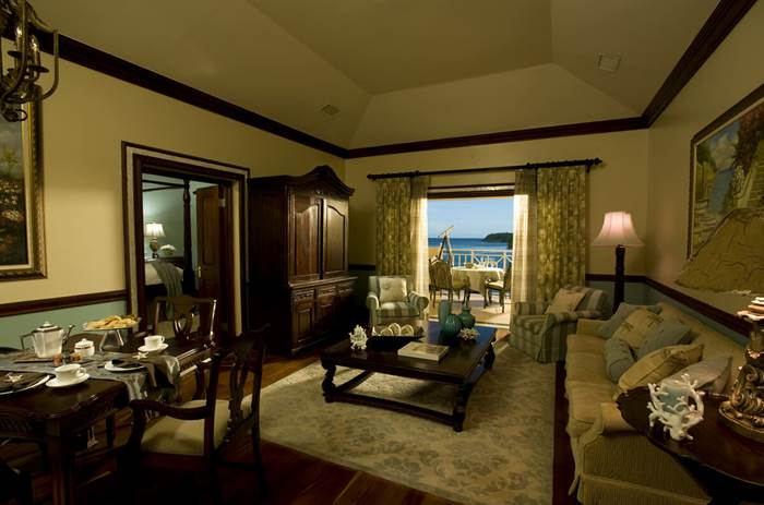 Sandals Royal Plantation Prime Minister 1B Oceanfront Owners Suite