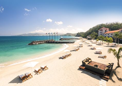 Sandals LaSource Grenada beach