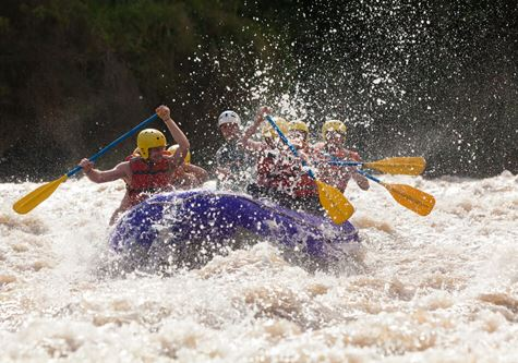 Explore Family Croatian Activity Adventure - White water rafting
