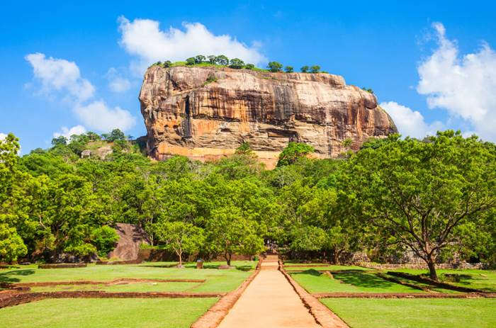 The rock of Sigriya - Cox & Kings Splendours of Sri Lanka