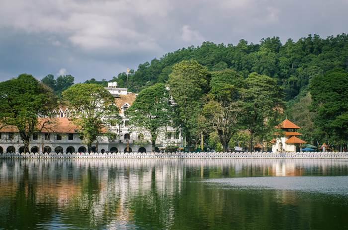 Temple of the tooth, Kandy on the Cox & Kings Splendours of Sri Lanka tour