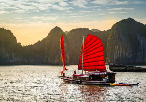 Cox & Kings Vietnam & The Temples of Angkor Solo Tour - The wonderful Ha Long Bay, Unesco world heritage in Vietnam
