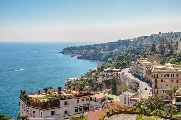 Tauck Classic Italy - View of the coast of Naples, Italy