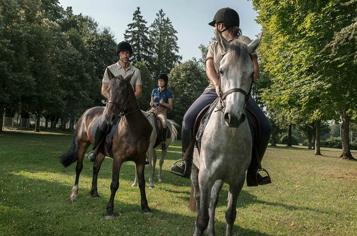 Horse riding at Club Med Vittel Le Parc in France