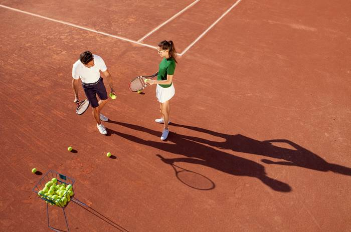 Tennis at Club Med Vittel Le Parc in France